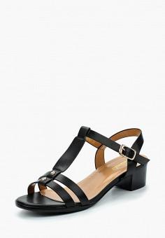 Босоножки, Saivvila, цвет: черный. Артикул: MP002XW15GP8. Обувь / Босоножки