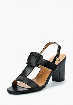 Босоножки, Saivvila, цвет: черный. Артикул: MP002XW15GPY. Обувь / Босоножки
