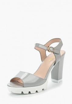 Босоножки, Saivvila, цвет: серый. Артикул: MP002XW15GR5. Обувь / Босоножки