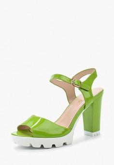 Босоножки, Saivvila, цвет: зеленый. Артикул: MP002XW15GR7. Обувь / Босоножки