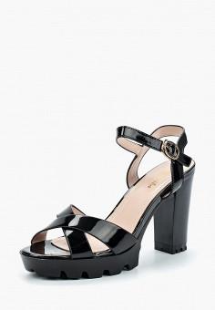 Босоножки, Saivvila, цвет: черный. Артикул: MP002XW15GR9. Обувь / Босоножки