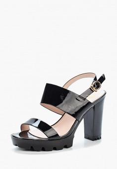 Босоножки, Saivvila, цвет: черный. Артикул: MP002XW15GRF. Обувь / Босоножки