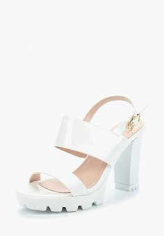 Босоножки, Saivvila, цвет: белый. Артикул: MP002XW15GRH. Обувь / Босоножки