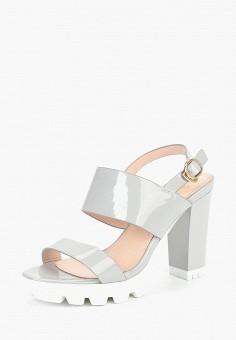 Босоножки, Saivvila, цвет: серый. Артикул: MP002XW15GRK. Обувь / Босоножки