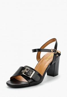 Босоножки, Saivvila, цвет: черный. Артикул: MP002XW15GRL. Обувь / Босоножки