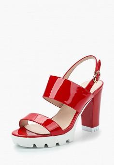 Босоножки, Saivvila, цвет: красный. Артикул: MP002XW15GRM. Обувь / Босоножки