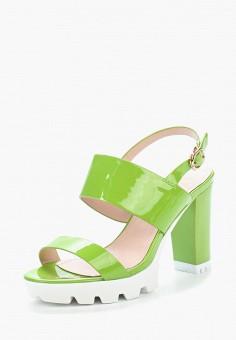 Босоножки, Saivvila, цвет: зеленый. Артикул: MP002XW15GRO. Обувь / Босоножки