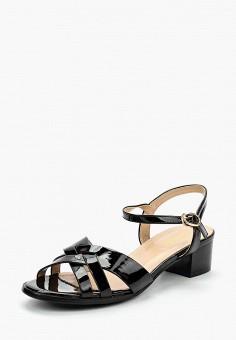 Босоножки, Saivvila, цвет: черный. Артикул: MP002XW15GS3. Обувь / Босоножки