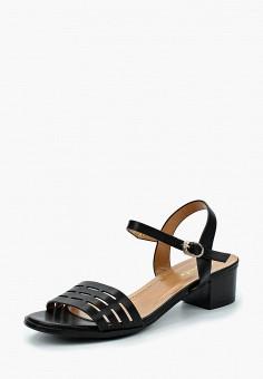 Босоножки, Saivvila, цвет: черный. Артикул: MP002XW15GSB. Обувь / Босоножки