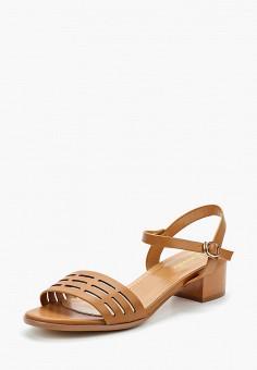 Босоножки, Saivvila, цвет: коричневый. Артикул: MP002XW15GSH. Обувь / Босоножки