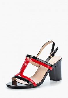 Босоножки, Saivvila, цвет: черный. Артикул: MP002XW15GSQ. Обувь / Босоножки