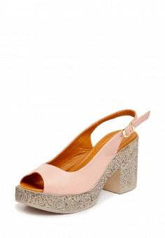 Босоножки, Pierre Cardin, цвет: розовый. Артикул: MP002XW15H33. Обувь