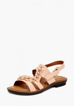 Сандалии, Kynuria, цвет: коралловый. Артикул: MP002XW15H8Z. Обувь / Сандалии