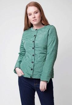 Куртка утепленная, Ampir Style, цвет: зеленый. Артикул: MP002XW15HQT. Одежда / Верхняя одежда / Демисезонные куртки