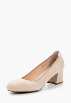 Туфли, Pierre Cardin, цвет: бежевый. Артикул: MP002XW15HRG. Обувь / Туфли / Закрытые туфли