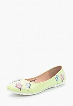 Балетки, T.Taccardi, цвет: зеленый. Артикул: MP002XW15I1T. Обувь