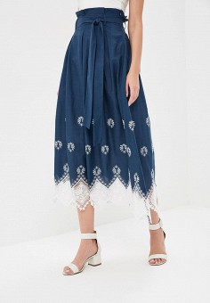 Юбка, Tantino, цвет: синий. Артикул: MP002XW15JYC. Одежда