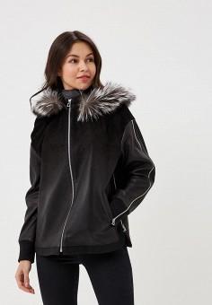 Куртка кожаная, Mondial, цвет: черный. Артикул: MP002XW15K39. Одежда / Верхняя одежда