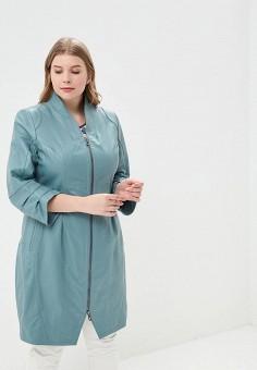 Куртка кожаная, Mondial, цвет: синий. Артикул: MP002XW15K3F. Одежда / Верхняя одежда