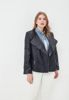 Куртка кожаная, Mondial, цвет: синий. Артикул: MP002XW15K3I.