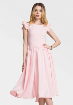 Платье, Zerkala, цвет: розовый. Артикул: MP002XW15K95. Одежда / Платья и сарафаны