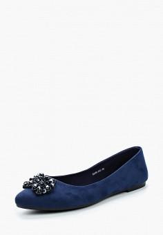 Балетки, T.Taccardi, цвет: синий. Артикул: MP002XW15KVN. Обувь