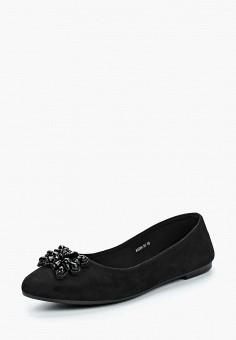 Балетки, T.Taccardi, цвет: черный. Артикул: MP002XW15KVO. Обувь