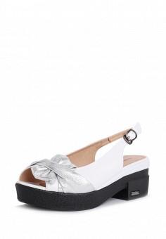Босоножки, T.Taccardi, цвет: белый. Артикул: MP002XW170H9. Обувь
