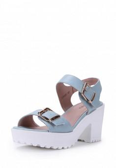 Босоножки, T.Taccardi, цвет: голубой. Артикул: MP002XW170HD. Обувь