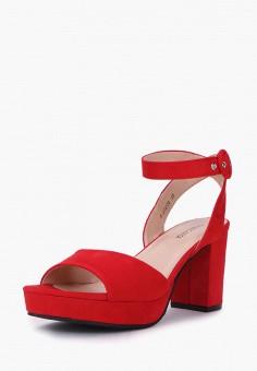 Босоножки, T.Taccardi, цвет: красный. Артикул: MP002XW170HQ. Обувь / Босоножки