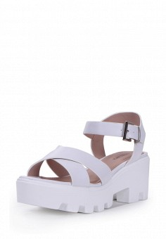 Босоножки, T.Taccardi, цвет: белый. Артикул: MP002XW170I0. Обувь