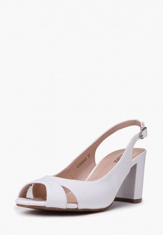 Босоножки, T.Taccardi, цвет: белый. Артикул: MP002XW170IA. Обувь / Босоножки