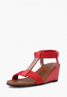 Босоножки, T.Taccardi, цвет: красный. Артикул: MP002XW170IW. Обувь
