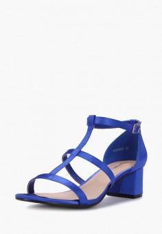 Босоножки, T.Taccardi, цвет: синий. Артикул: MP002XW170KK. Обувь / Босоножки