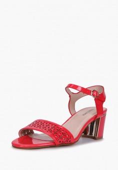 Босоножки, T.Taccardi, цвет: красный. Артикул: MP002XW170KU. Обувь / Босоножки
