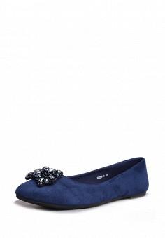 Балетки, T.Taccardi, цвет: синий. Артикул: MP002XW170LT. Обувь