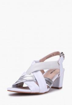 Босоножки, T.Taccardi, цвет: белый. Артикул: MP002XW170M4. Обувь / Босоножки