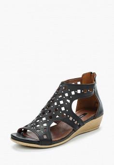 Босоножки, Tervolina, цвет: черный. Артикул: MP002XW18MEL. Обувь / Босоножки