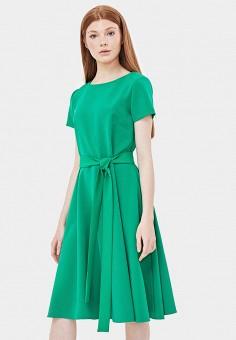 Платье, Sultanna Frantsuzova, цвет: зеленый. Артикул: MP002XW18TIA. Одежда / Платья и сарафаны