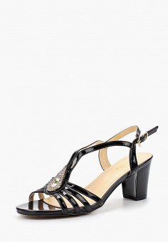 Босоножки, Saivvila, цвет: черный. Артикул: MP002XW18UOU. Обувь / Босоножки