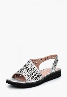 Сандалии, Vitacci, цвет: серебряный. Артикул: MP002XW18VOP. Обувь / Сандалии