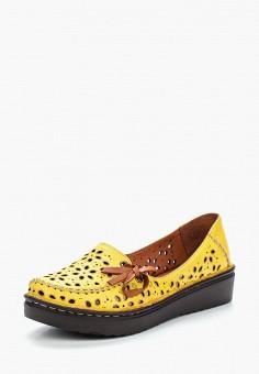 Туфли, Vitacci, цвет: желтый. Артикул: MP002XW18VQ2. Обувь / Туфли / Закрытые туфли