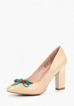 Туфли, Dino Ricci, цвет: бежевый. Артикул: MP002XW18W5C. Обувь / Туфли / Закрытые туфли