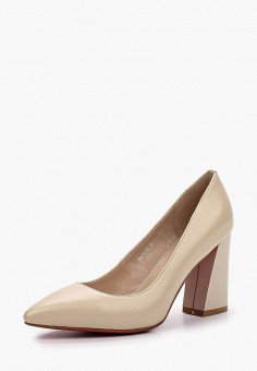 Туфли, Dino Ricci, цвет: бежевый. Артикул: MP002XW18W5X. Обувь / Туфли / Закрытые туфли