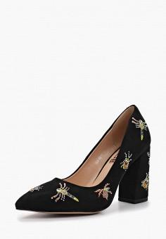 Туфли, Dino Ricci Select, цвет: черный. Артикул: MP002XW18W6A. Обувь / Туфли / Закрытые туфли