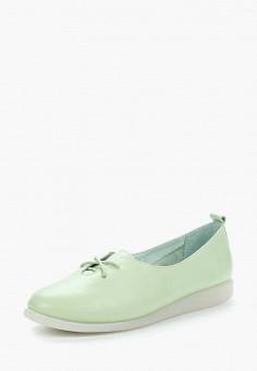Туфли, Berkonty, цвет: зеленый. Артикул: MP002XW18XFK. Обувь / Туфли / Закрытые туфли