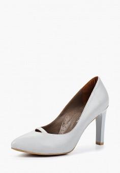 Туфли, Allora, цвет: серый. Артикул: MP002XW18XHN. Обувь / Туфли / Закрытые туфли