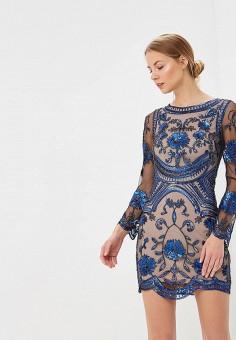 Платье, Jan Steen, цвет: синий. Артикул: MP002XW18Z6T. Одежда / Платья и сарафаны