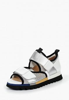 Сандалии, Tervolina, цвет: серебряный. Артикул: MP002XW1929R. Обувь / Сандалии