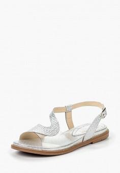 Сандалии, Tervolina, цвет: серебряный. Артикул: MP002XW192CY. Обувь / Сандалии